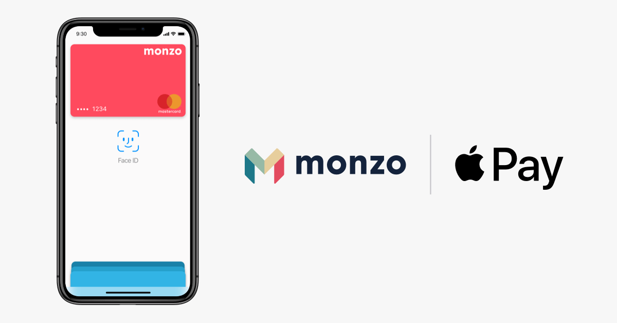 Monzo Apple Pay
