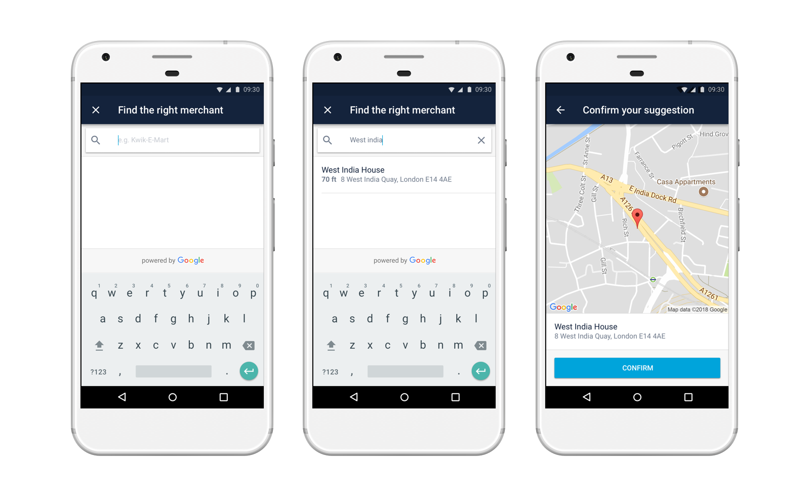 Better Transaction Information on Android