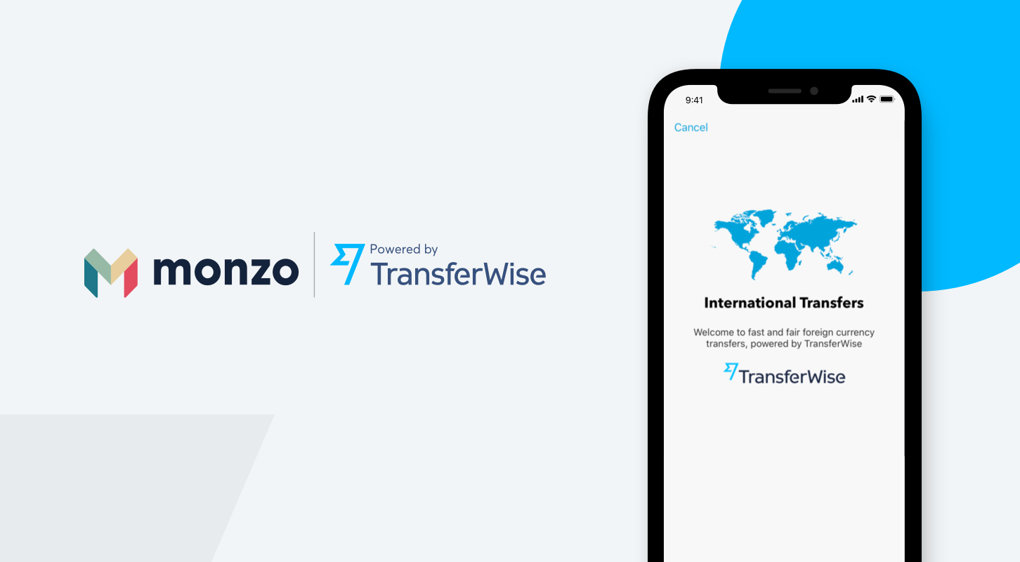 Monzo powered by TransferWise