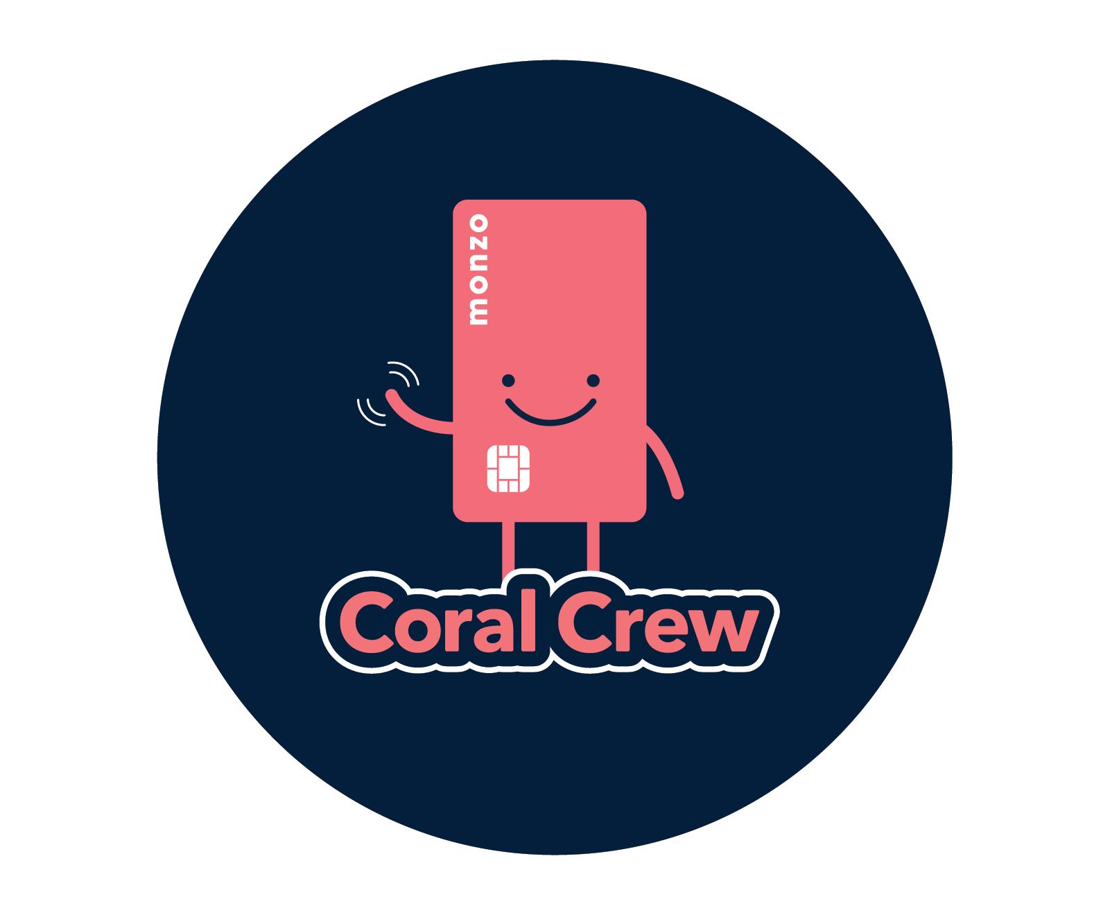 Illustration of Coral Crew logo