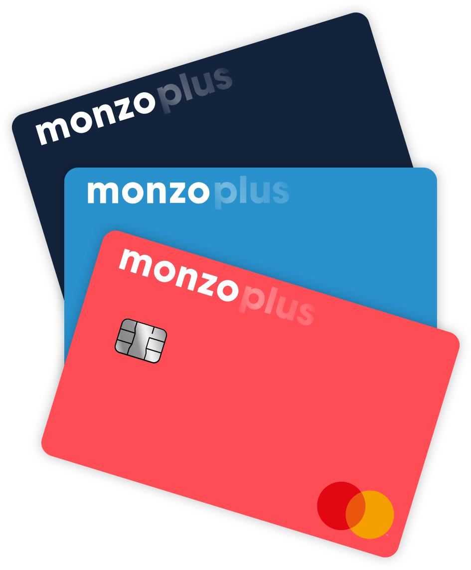 Monzo Plus card options