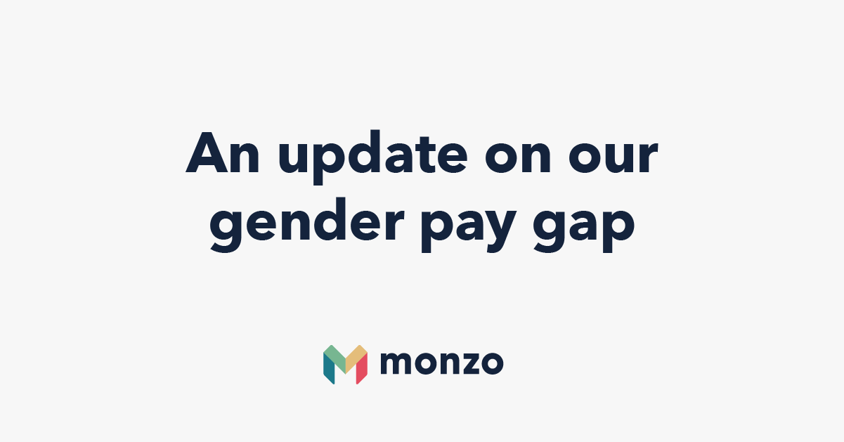 An update on our gender pay gap, April 2019