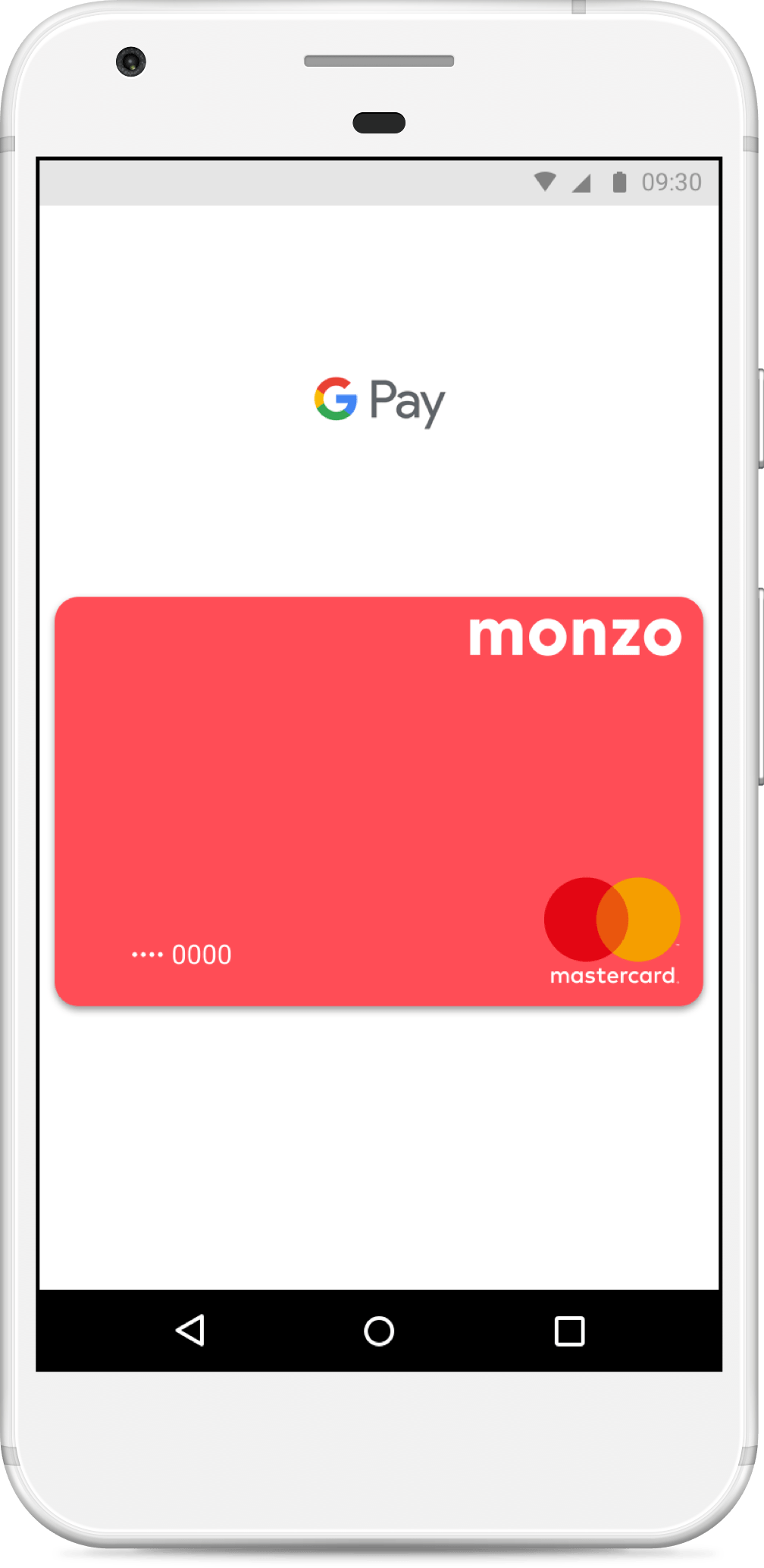 Google Pay on an Android smartphone